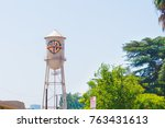 los angeles  usa   august 24 ... | Shutterstock . vector #763431613