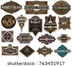Mega pack of labels and banners | Shutterstock vector #763451917