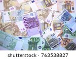 euro notes supply | Shutterstock . vector #763538827