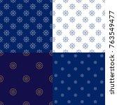 set of maritime backgrounds  ...   Shutterstock .eps vector #763549477