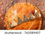 galette des rois | Shutterstock . vector #763589407
