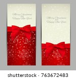 abstract beauty christmas and... | Shutterstock .eps vector #763672483