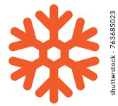 ice crystal icon   Shutterstock .eps vector #763685023