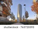italy   milan   november 27... | Shutterstock . vector #763720393