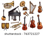Musical Instruments Sketch...