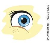 Vector Baby Blue Eye