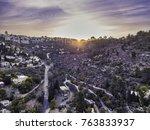 moscovia gorny monastery church ... | Shutterstock . vector #763833937