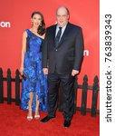 """Small photo of LOS ANGELES, CA - October 22, 2017: Glenn Fleshler & Guest at the premiere for """"Suburbicon"""" at the Regency Village Theatre, Westwood"""