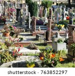 Commemorative Graves On The...