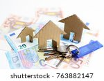 prices of the rentals suggested ... | Shutterstock . vector #763882147