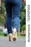 legs of youthful female