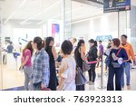 nakhonratchasrima thailand  nov ... | Shutterstock . vector #763923313