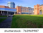ec1 power station in lodz ... | Shutterstock . vector #763969987