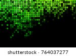 light green vector red banner... | Shutterstock .eps vector #764037277