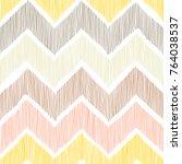 seamless pattern. chevron  a... | Shutterstock .eps vector #764038537