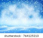Winter Background. Winter...