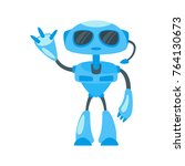 vector cartoon style... | Shutterstock .eps vector #764130673