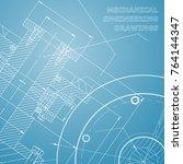 backgrounds of engineering... | Shutterstock .eps vector #764144347