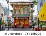 singapore  singapore   dec 24 ...   Shutterstock . vector #764158303