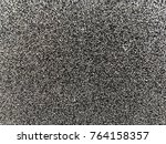 frost on the metal. fluffy... | Shutterstock . vector #764158357