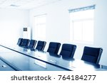 modern conference room with... | Shutterstock . vector #764184277
