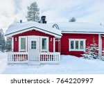 House At Reindeer Farm In...