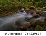 flow of a water from near by... | Shutterstock . vector #764229637