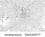 streets of adelaide  city map ... | Shutterstock .eps vector #764244577