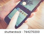 bangkok  thailand   november 28 ... | Shutterstock . vector #764270203