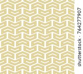 geometric vector pattern with... | Shutterstock .eps vector #764277907