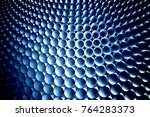 abstract 3d tubes background.... | Shutterstock . vector #764283373