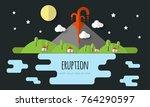 vector illustration of a... | Shutterstock .eps vector #764290597
