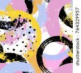 seamless background pattern ...   Shutterstock .eps vector #764329957