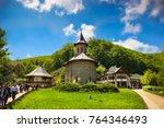prislop monastery  hateg ...   Shutterstock . vector #764346493