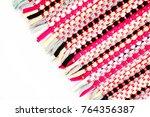 color of fabric warping.   Shutterstock . vector #764356387