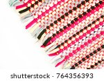 color of fabric warping.   Shutterstock . vector #764356393