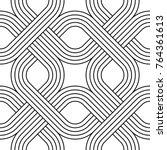 vector seamless texture. modern ...   Shutterstock .eps vector #764361613