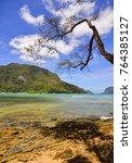 landscape of coron island ... | Shutterstock . vector #764385127