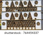 details from traditional... | Shutterstock . vector #764454337