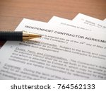 independent contractors... | Shutterstock . vector #764562133