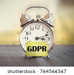 gdpr general data protection... | Shutterstock . vector #764566567
