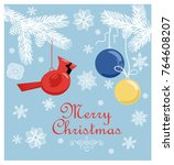 Retro Christmas Pastel Card...