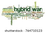 word cloud with words related... | Shutterstock .eps vector #764710123