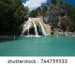 Beautiful Turner Falls On A...
