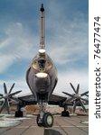 soviet bomber of the cold war | Shutterstock . vector #76477474