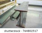 a part of metal beam | Shutterstock . vector #764802517