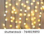 christmas and happy new year on ... | Shutterstock . vector #764819893