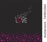 love background  little...   Shutterstock .eps vector #764821063