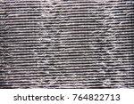 insulation material texture...   Shutterstock . vector #764822713