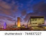 beautiful view of manama city... | Shutterstock . vector #764837227